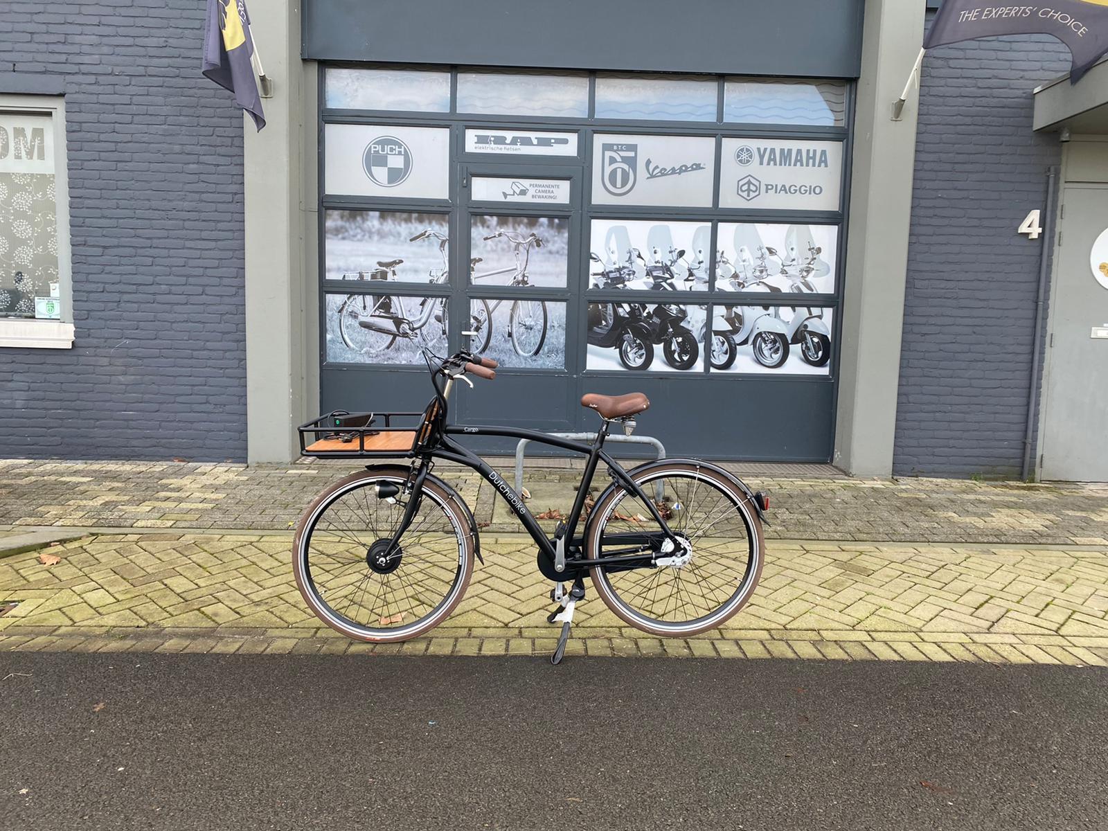 Dutch Ebike Cargo full